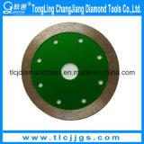 Disques de découpage de diamant de qualité pour le découpage de tuile