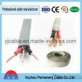 Belüftung-Isolierungs-Material-flach Zwilling-und Massen-elektrischer Strom-Kabel