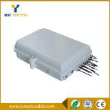 Caixa de distribuição impermeável da fibra óptica da montagem FTTH de IP65 Pólo
