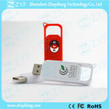 플라스틱 USB 지팡이 (ZYF1271)를 미끄러지는 유일한 디자인