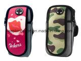 Kundenspezifischer Neopren-Armbinde-Telefon-Kasten mit volle Farben-Drucken