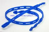 Cinta ajustável flexível da borracha de silicone