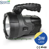 5W éclairage solaire portatif, lumière de recherche de DEL
