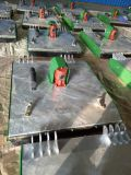 Cortacéspedes montado atrás del cortacéspedes de los primeros del césped del Pto del alimentador con el Ce para el trabajo que cultiva un huerto