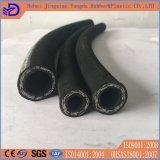 SAE 100 R2at (2SN) boyau en caoutchouc industriel de fil d'acier de 3/8 pouce