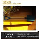 Длинняя деревянная лопата лопаткоулавливателя ручки