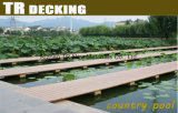 Revestimento estratificado do Decking do tambor WPC