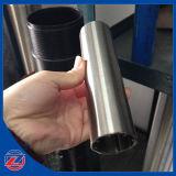Flujo de filtración del acero inoxidable de la ranura de 25 micrones afuera en las pantallas de Johnson con los elementos filtrantes de pantalla de alambre de la cuña