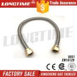 Boyau de métal flexible pour le BBQ de gaz de nature