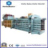 Prensa de planchar hidráulica del papel usado de la prensa horizontal