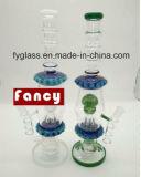 Pipe de fumage en verre du modèle le plus neuf avec la conduite d'eau en verre de constructeur de la Chine