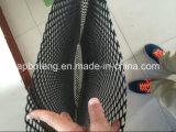 Reticolato nero del sacchetto di plastica dell'ostrica