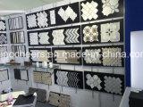 Weiße Marmormosaik-Fliesen für Fußboden-Fliesen, Vorhalle-Carrara-weißes Marmormosaik für Wand