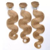 Tessitura brasiliana naturale dei capelli umani di Remy del Virgin di 100%