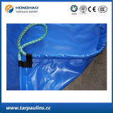 Feuille enduite de bâche de protection de couteau imperméable à l'eau de haute résistance de PVC