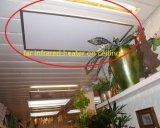 天井か壁に取り付けられた電気部屋ヒーター