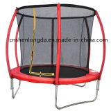 trampolino di salto di rimbalzo di 6FT con il trampolino esterno della rete di sicurezza