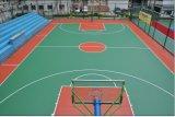 屋外スポーツの床、バドミントンのビニールプラスチックフロアーリングのマット