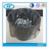 Sac d'ordures noir remplaçable en plastique