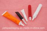 Imballaggio cosmetico impaccante personalizzato del tubo di plastica del tubo