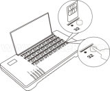 SIM Bank32 Remote SIM Card Controller voor GoIP
