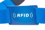 Wristband del braccialetto della cinghia registrabile di RFID per il festival di musica