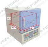 Riscaldamento per il forno a muffola elettrico di sinterizzazione della strumentazione di laboratorio