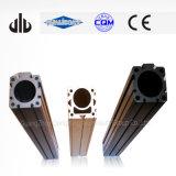 Perfil de aluminio anodizado duro del soporte de aluminio (T-Ranura)