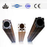 Profil en aluminium anodisé dur de parenthèse en aluminium (T-Fente)