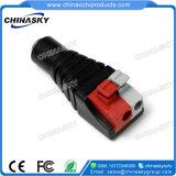 2.1*5.5mm gelijkstroom de Vrouwelijke Schakelaar van de Macht van kabeltelevisie met Terminal Screwless (PC109)