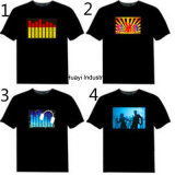 T-shirts lumineux de l'EL DEL