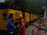 地図書のCopco 35bar鉱山のための高圧携帯用ねじ空気圧縮機