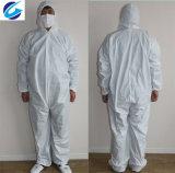 Sf (spunbond und Film) nichtgewebter Overall mit PE/Protective Kleidung