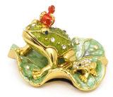 Boîte de bijoux, boîte de bijoux d'alliage, boîte de bijoux en métal (230)