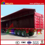 Cortina De Parede Open Van Box / Wing Opening Semi-Trailer