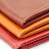 Cuir 2017 métallisé de PVC d'usine de la Chine pour des meubles