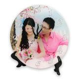 Placas de acrílico adornadas de la foto con el soporte para la impresión personalizada