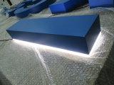 옥외 실내 외부 실내 광고 날조된 분명히된 표시 아크릴 LED 채널 편지 네온 로고 표시