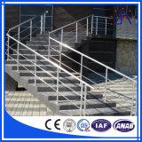 Cerca de alumínio para o corrimão da escada com alta qualidade