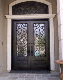 Disegno esterno superiore del portello di entrata del ferro dell'arco