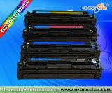 Cartouche de toner pour la couleur de HP (CB540A/541A/542A/543A)