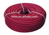 Do jato de alta pressão trançado da arruela do fio de aço mangueira hidráulica de borracha limpa com 4000psi.