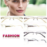 Il monocolo di titanio della montatura per occhiali incornicia il modo Eyewear