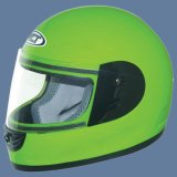 De Helm van Motorcross (109-green)