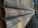 12m Longitud espiral de sierra soldada de acero Pila