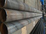 La spirale a vu la pipe en acier soudée de pile