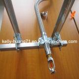 Corrugated гибкий металлический рукав нержавеющей стали Ss304 316 с штуцерами
