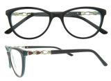Frame van het Oogglas van Eyewear van de Acetaat van de Glazen van de Ontwerper van Italië het Optische In het groot
