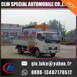 4 Ton/5ton 이동할 수 있는 공장 가격, 판매를 위한 집에서 만드는 포좌 트럭 기중기를 가진 트럭에 의하여 거치되는 기중기 제조