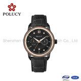 OEM populaire de luxe de mouvement de quartz suisse de montre de la mode 3ATM \ mode de robe